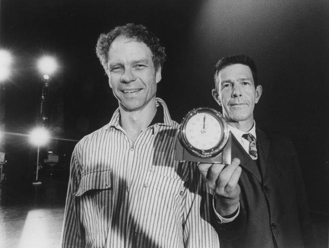 John Cage insieme a Merce Cunningham
