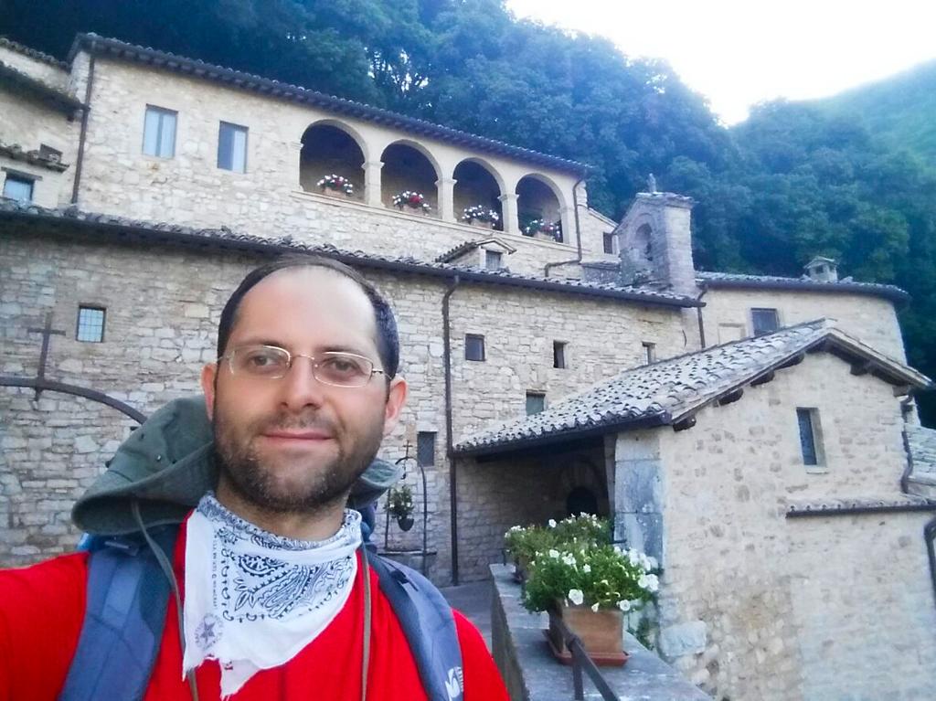 Aldo chiesa Cammino Francesco 2016