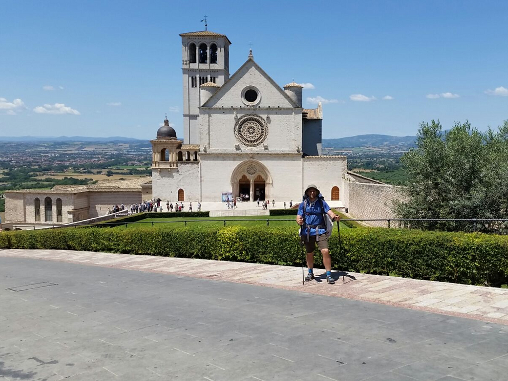 Basilica Assisi Cammino Francesco 2016