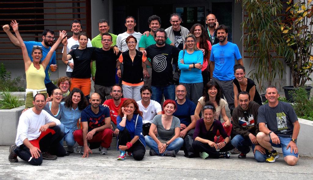 Compagni di corso AIGAE Cammino di Francesco Passicreativi 2016