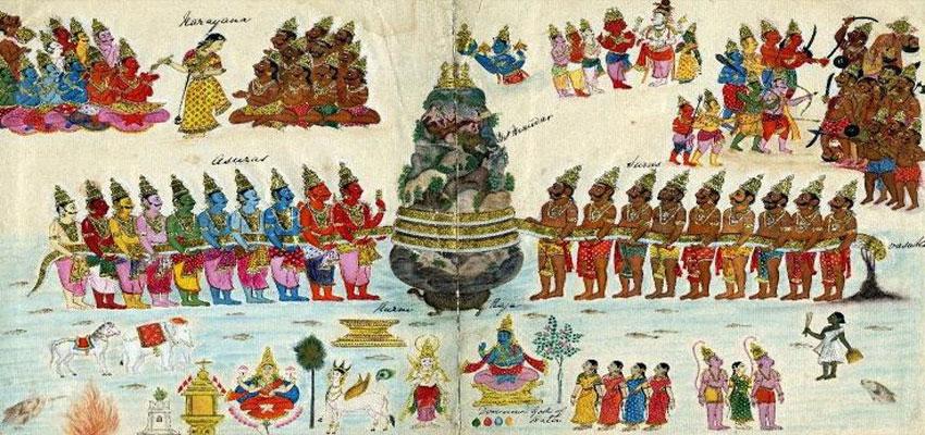 Illustrazione della notte sacra per devoti di Shiva - Maha Shivaratri