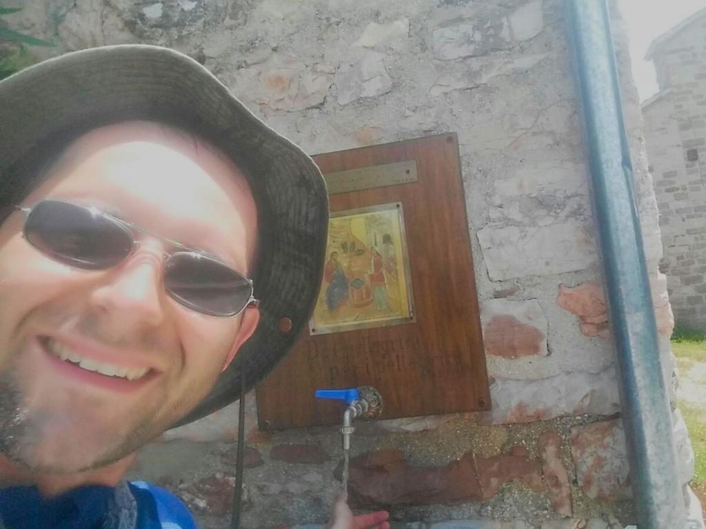 fontana Cammino Francesco 2016