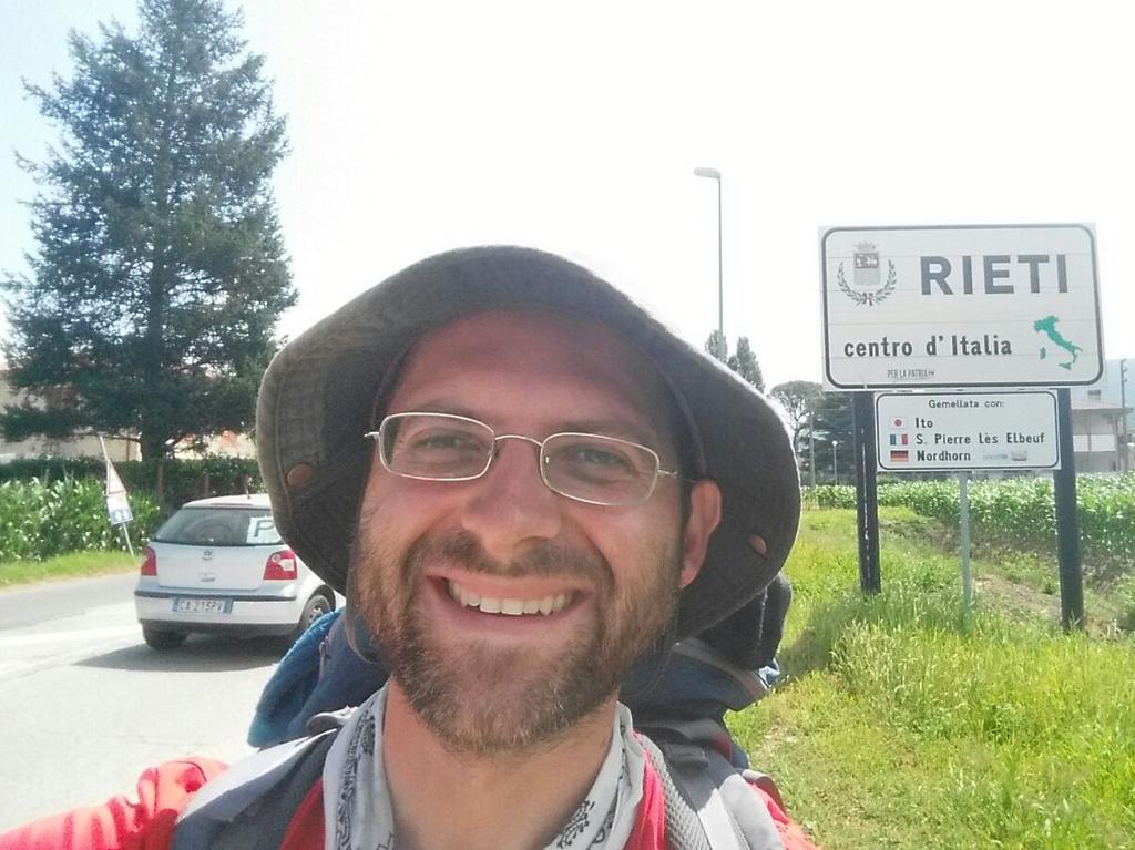 Aldo Rieti Cammino Francesco 2016