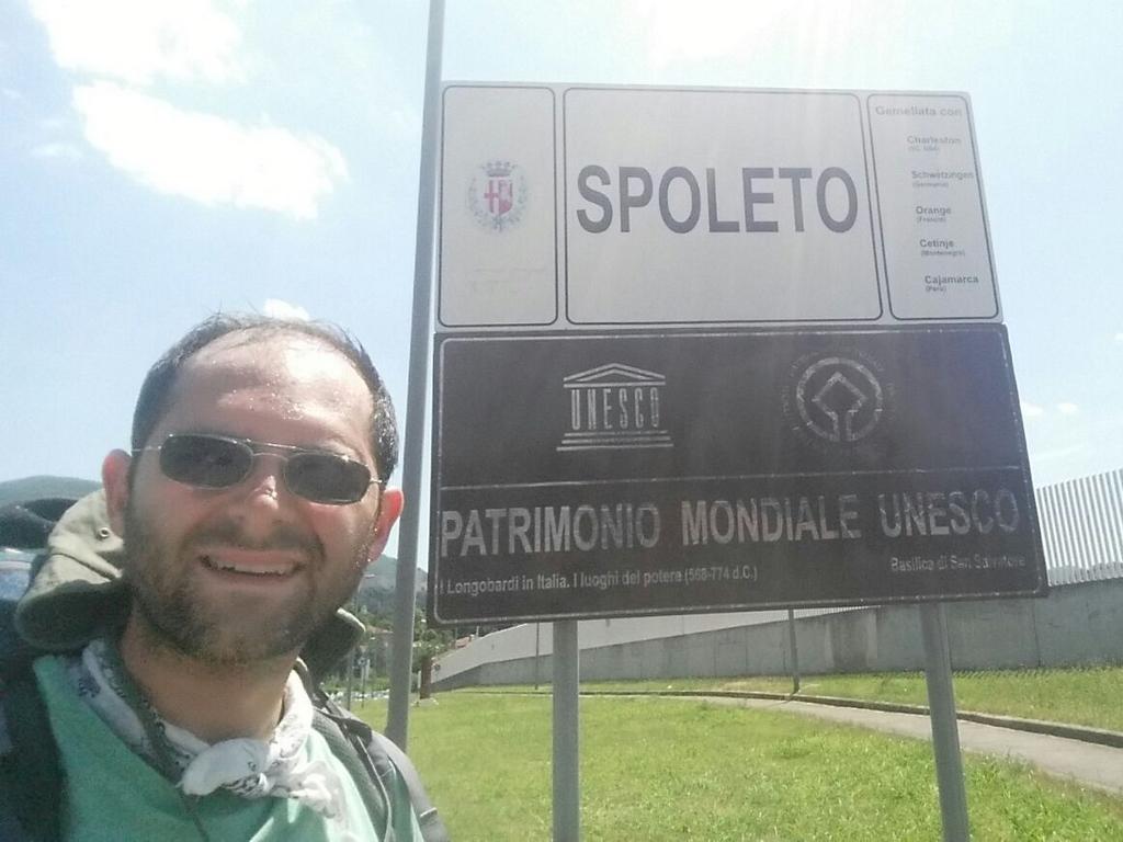 Aldo Spoleto Cammino Francesco ,2016
