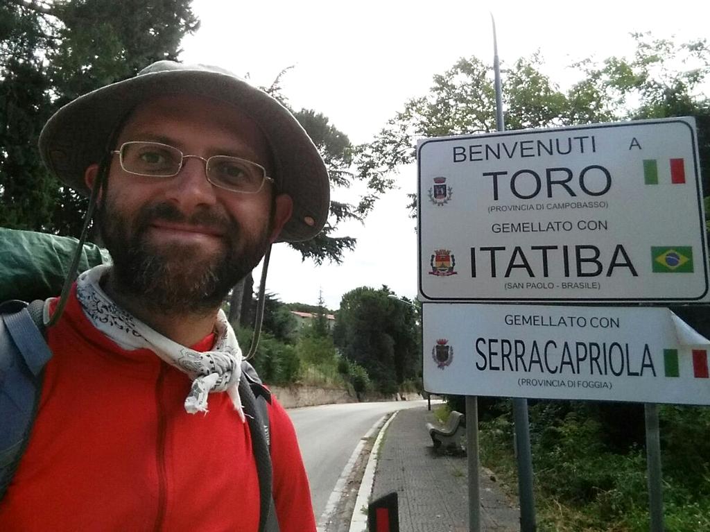Aldo a Toro Cammino Francesco 2016