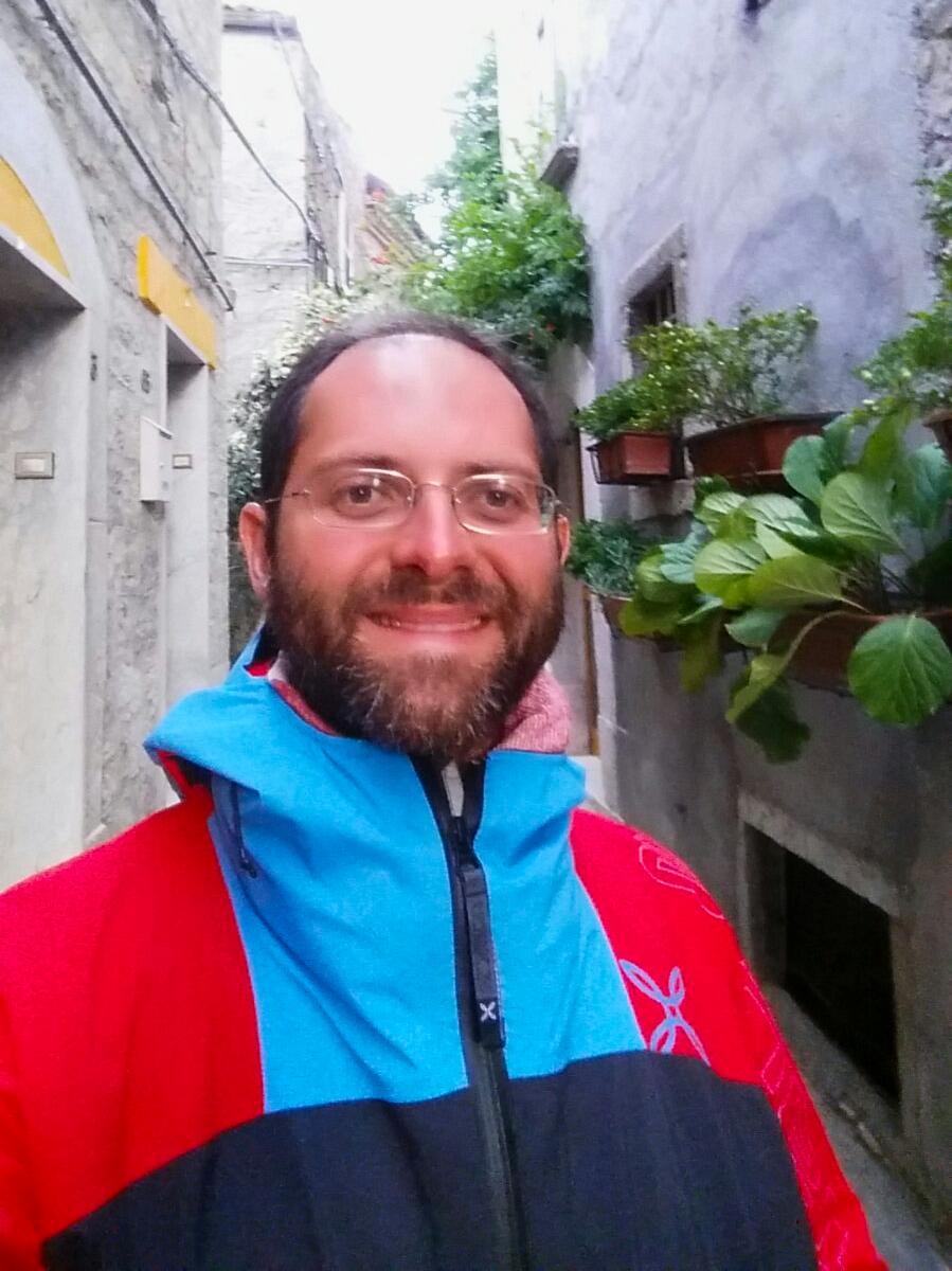 Aldo vicolo Cammino Francesco 2016