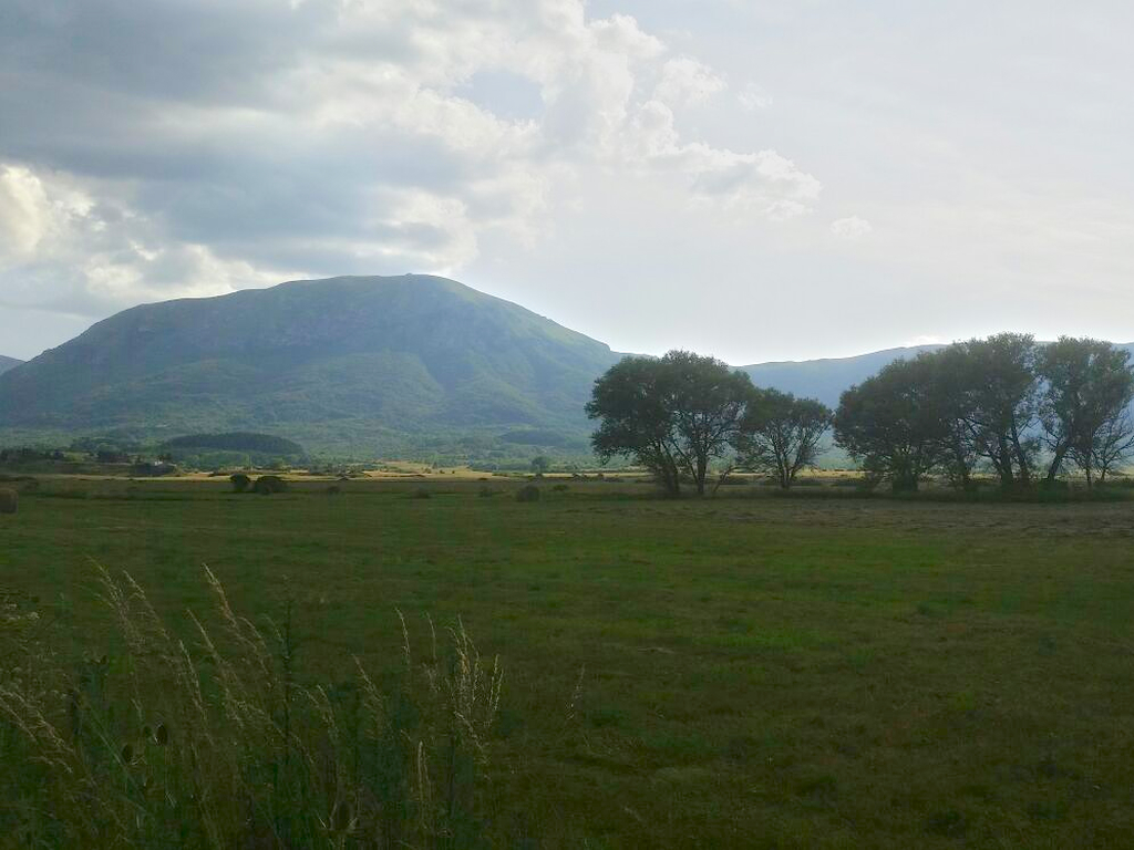 panorama Cammino Francesco 2016