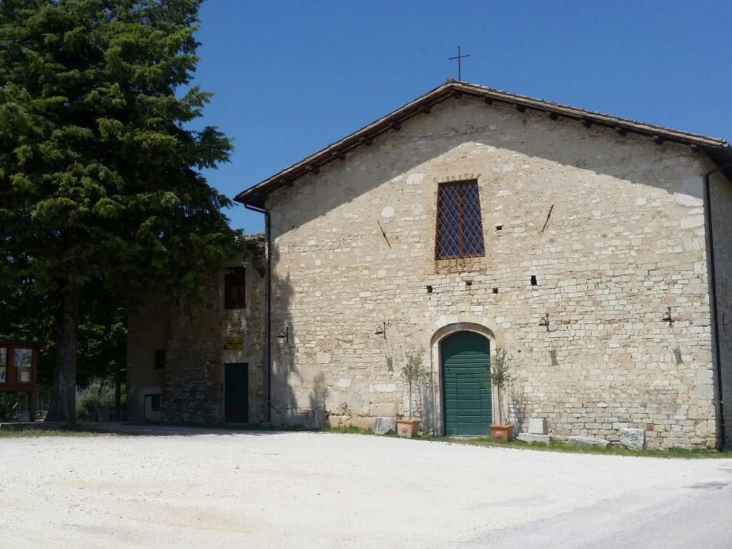 cappella Cammino Francesco 2016