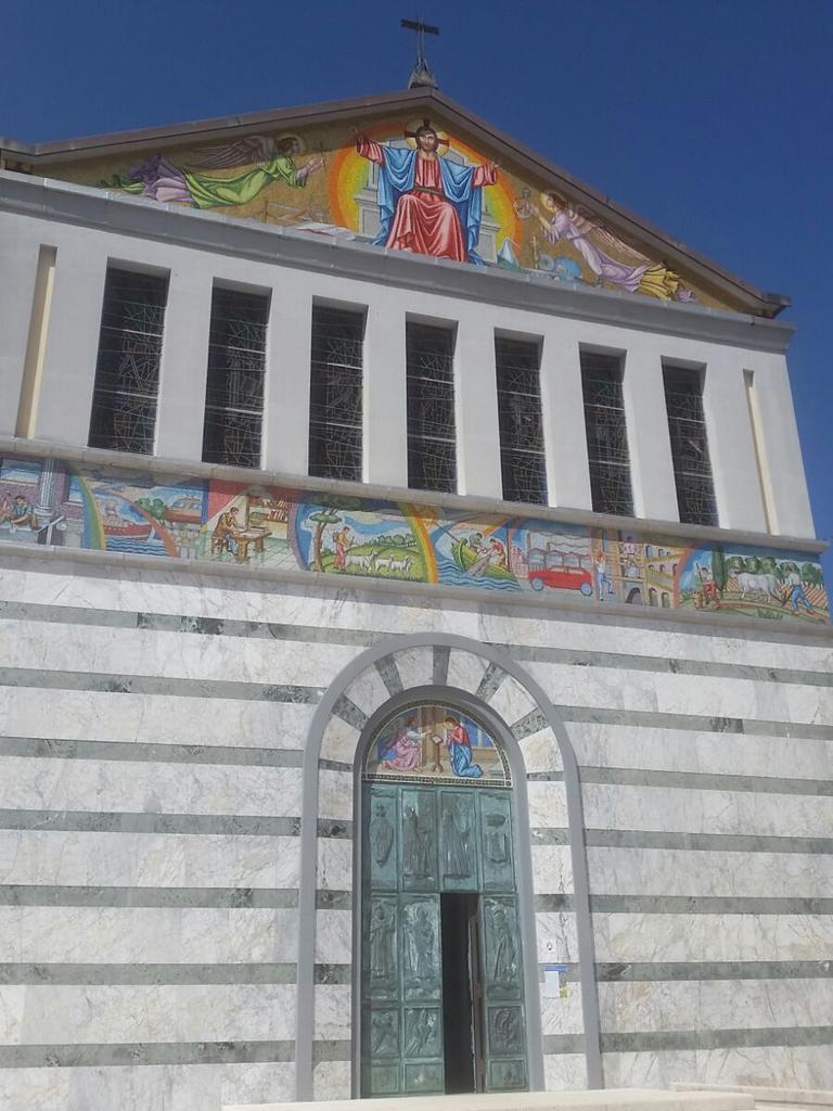 chiesa Cammino Francesco 2016