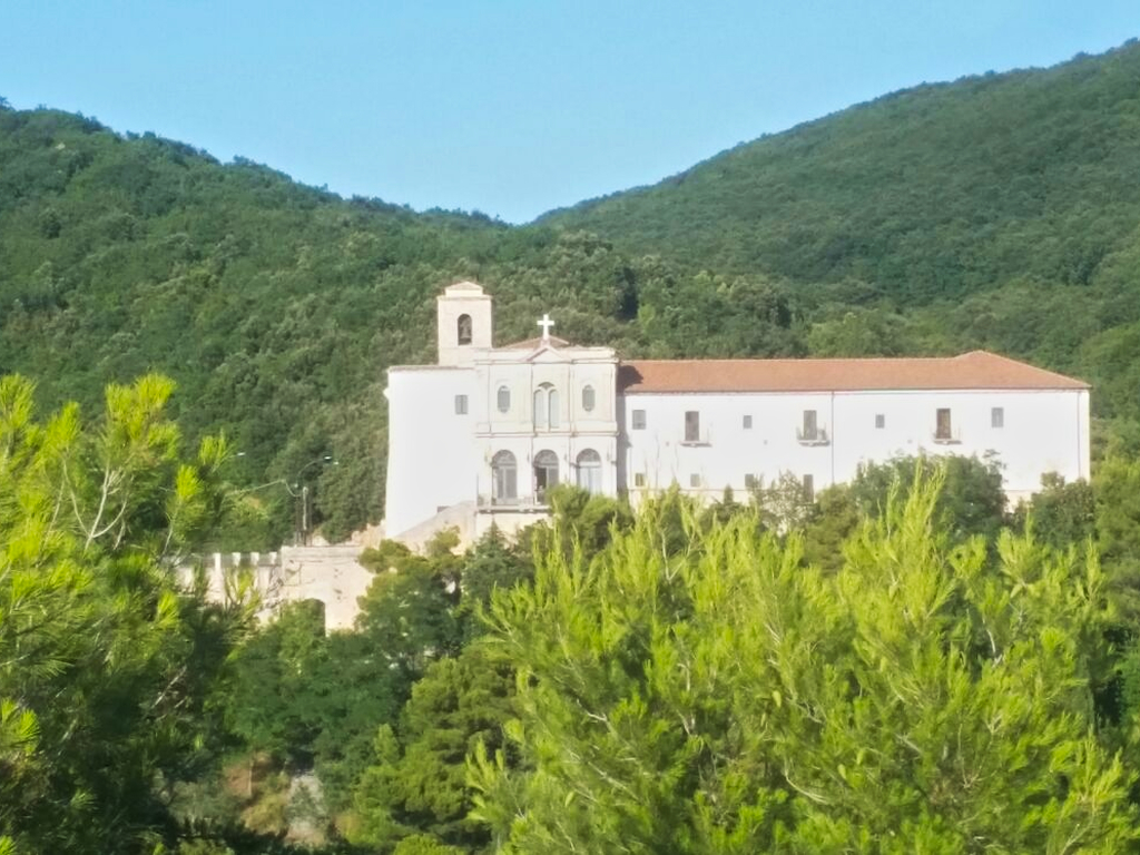 convento S Marco in Lamis Cammino Francesco 2016