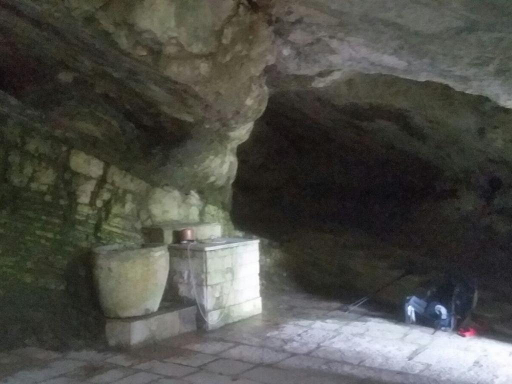 grotta Cammino Francesco 2016