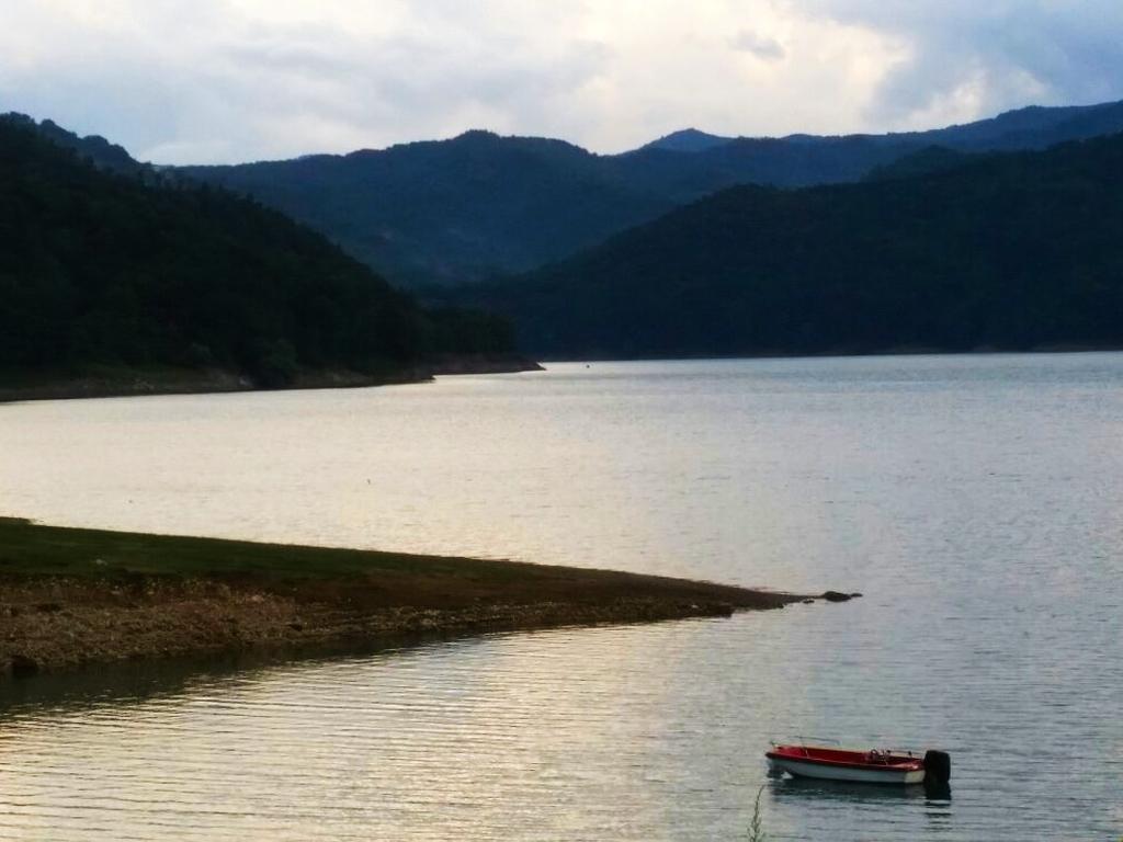 lago Cammino Francesco 2016