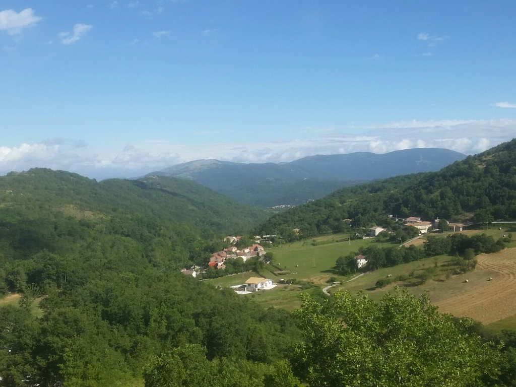 panorama Molise Cammino Francesco 2016