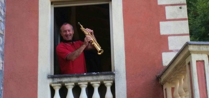 suonatore evidenza Cammino Francesco 201