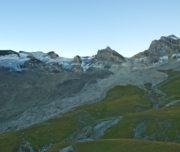 Testata della Val di Rhemes alle prime luci dell'alba_Passicreativi
