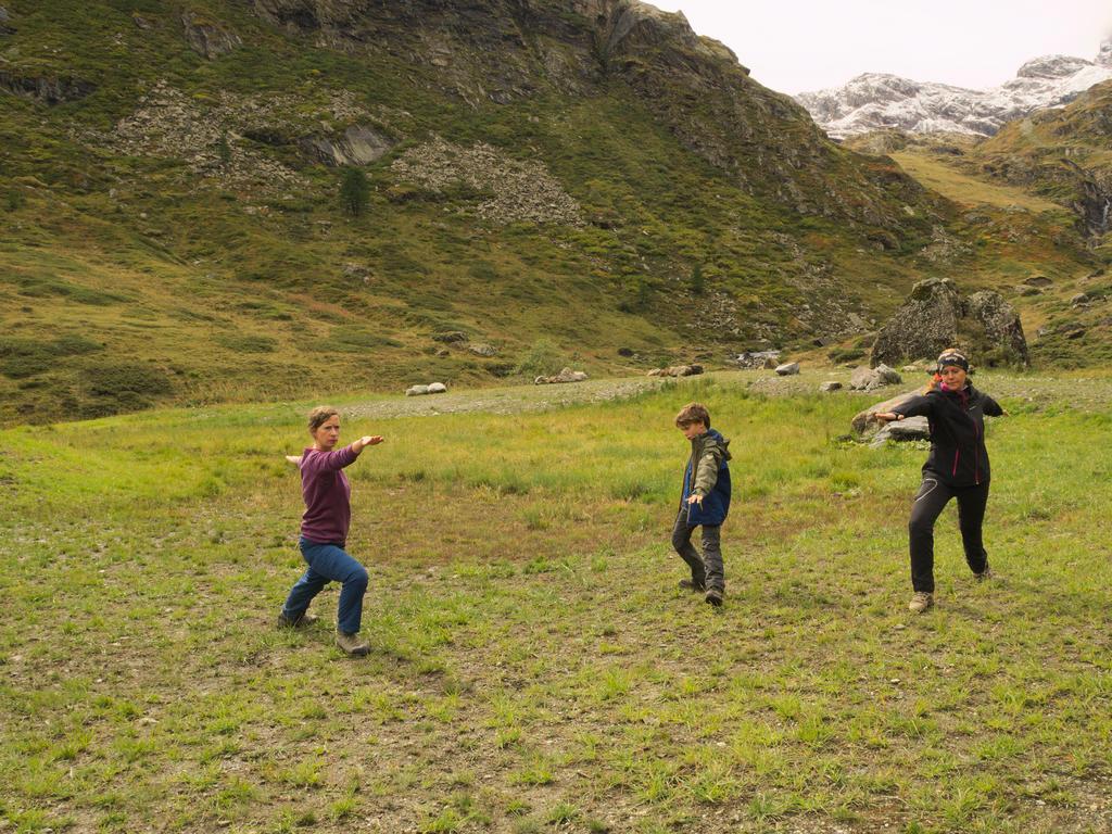 Green Yoga_Il Guerriero in Val di Rhemes_Passicreativi