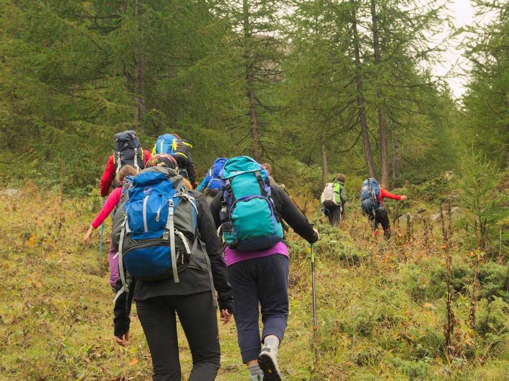 Salendo verso Alpe Grand Vaudala_Val di Rhemes_passicreativi
