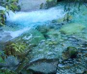 Acque cristalline del Rio Cama Val di Cama_Passicreativi