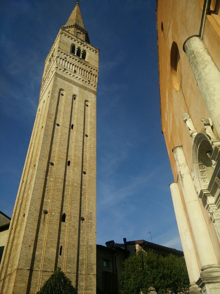Esplorazioni_Dolomiti_Friulane_Campanile Duomo Pordenone_Passicreativi