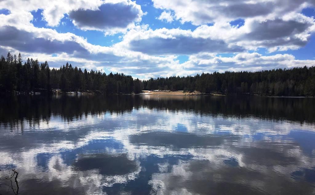 Lago Landfaltyernet Norvegia sera Passicreativi