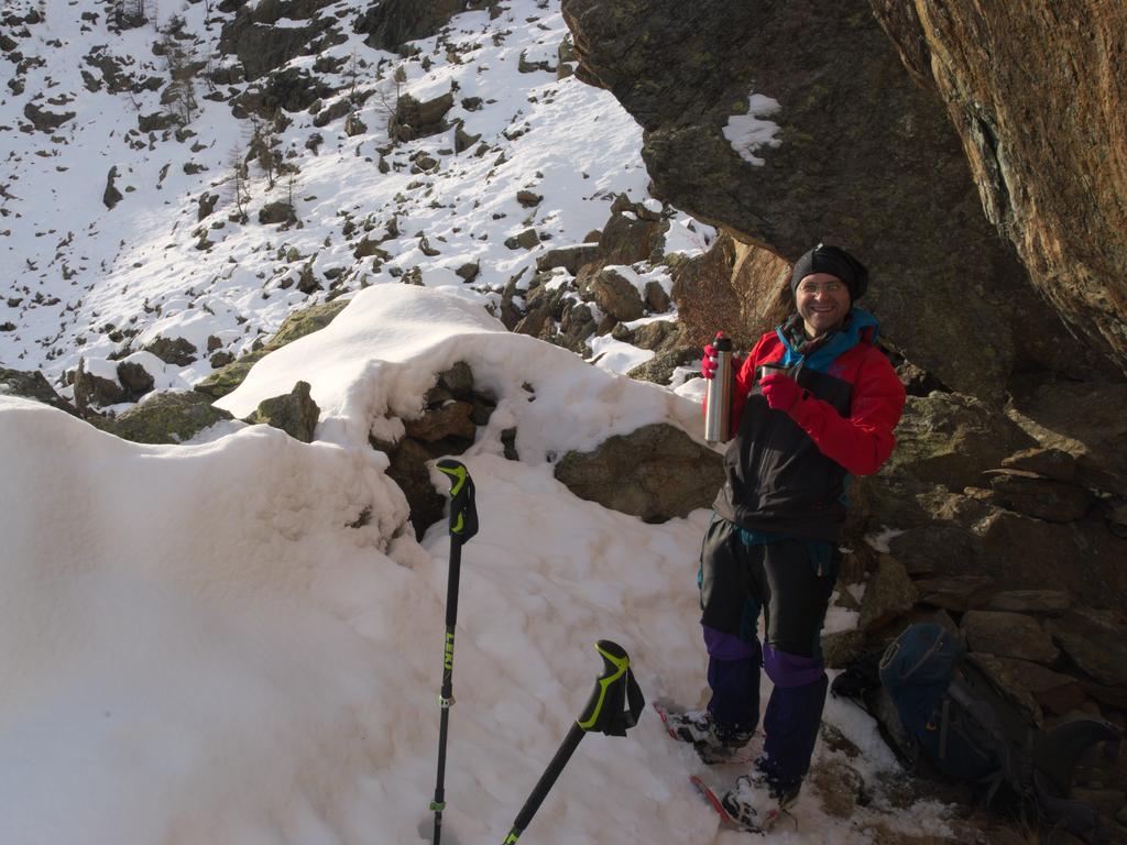 Pausa nella neve